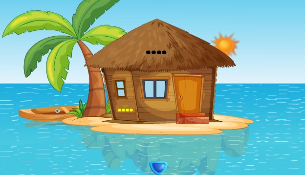 Play Island Hut House Escape