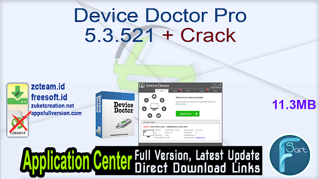 Device Doctor Pro 5.3.521 + Crack