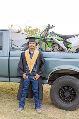 Ford truck and 2021 HS Senior