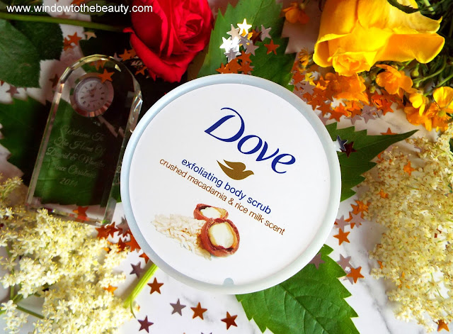 Dove Cream Shower Peeling Macadamia & Rice Milk