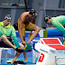 Natação: Brasil termina em último lugar na prova de revezamento 4×200 metros