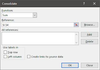 Menggabungkan Data pada Microsoft Excel Menjadi Satu Sheets