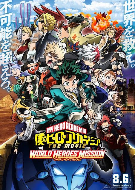 Funimation é a Responsável pelo novo filme de Boku no Hero Academia nos Cinemas Brasileiros