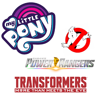 My Little Pony x Ghostbusters, Transformers & Power Ranger Crossovers Coming