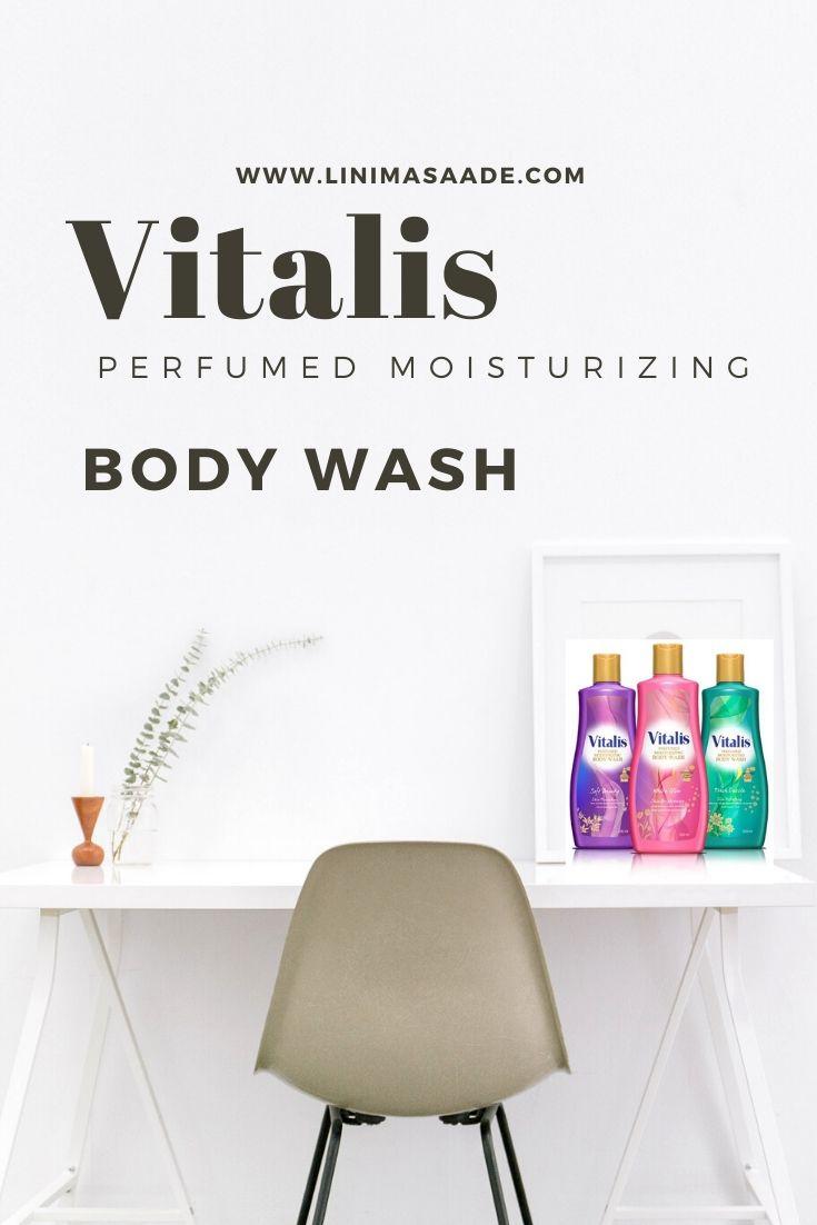 Saatnya #MandiParfum Dengan Vitalis Perfumed Moisturizing Body Wash