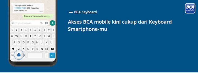 BCA Keyboard BCA Mobile