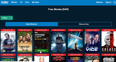 how watch free movies and tv shows on Vudu without paying any money-4