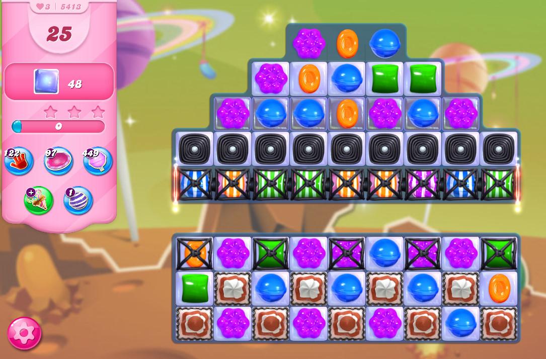 Candy Crush Saga level 5413