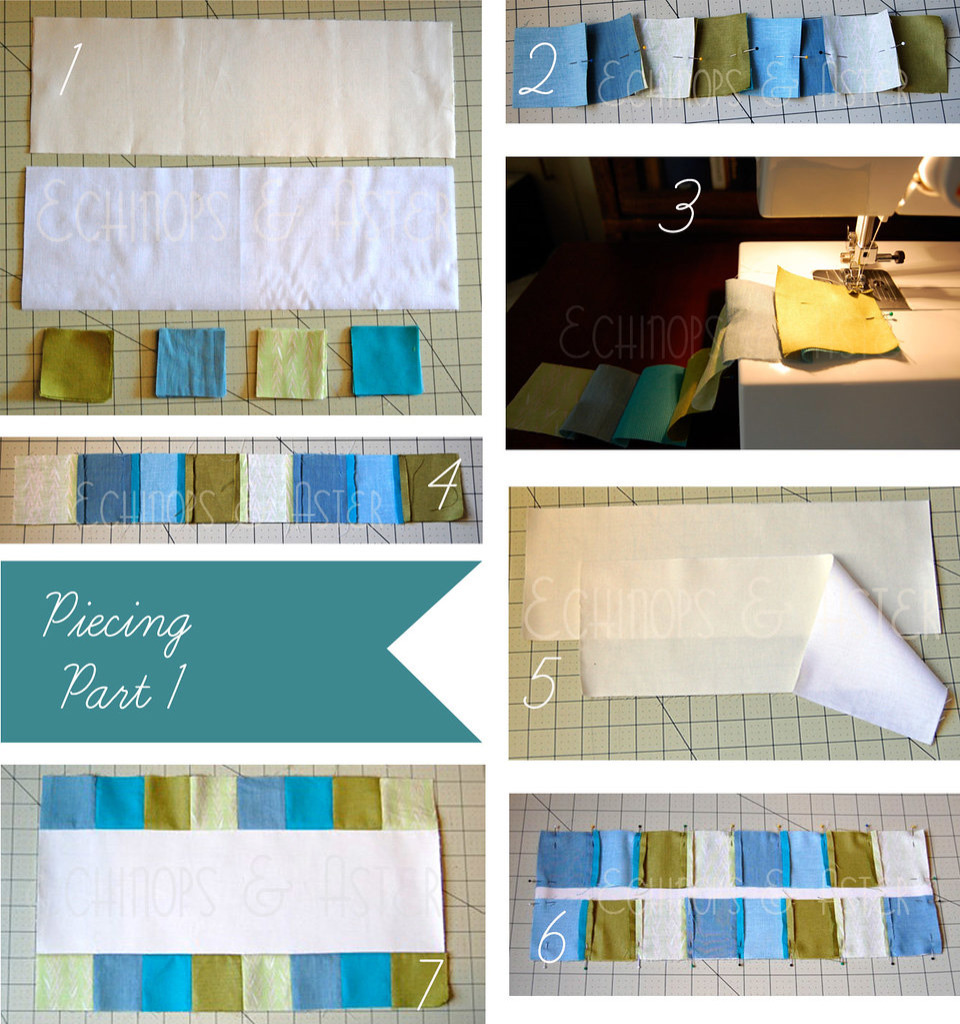 Quilted Table Runner Tutorial and Pattern