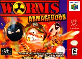 Jogue gratis Worms Armageddon para N64