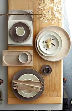 Estilismo para las mesas, table ware: platos, vajillas y complementos