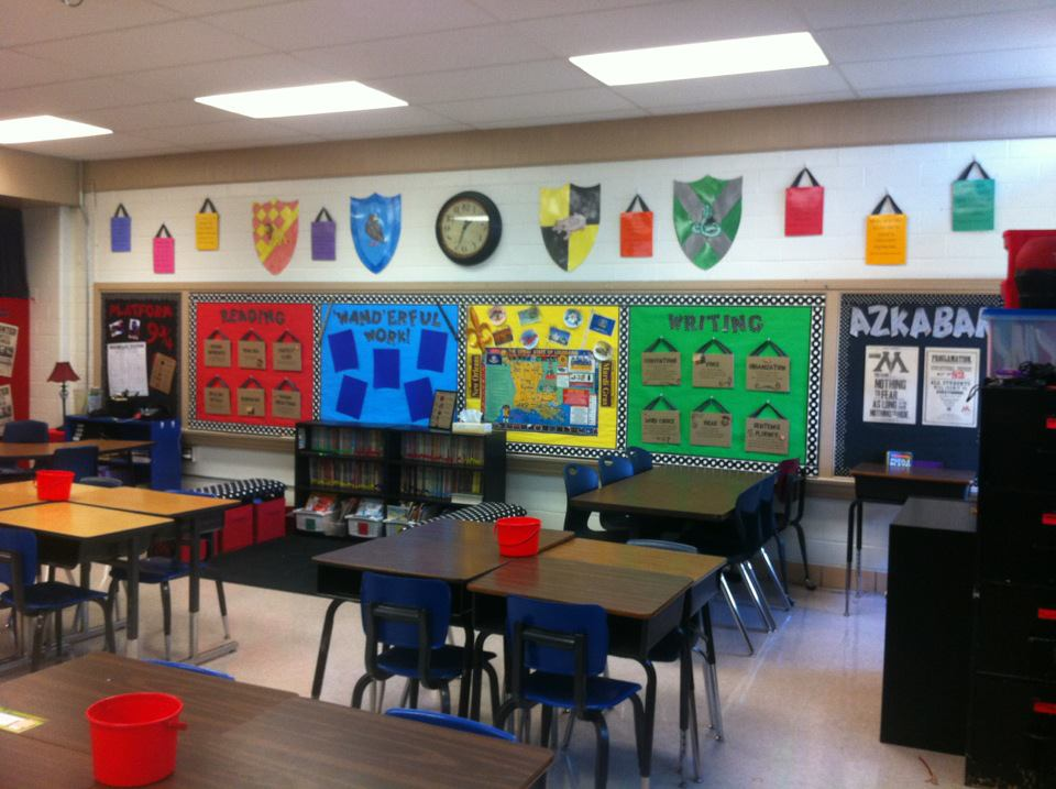 Chamber Of Magic Harry Potter Classroom Theme