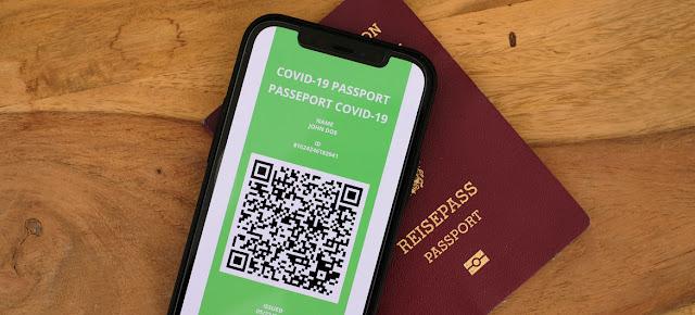 موعد البدأ في جواز السفر الصحي الخاص بفيروس كورونا