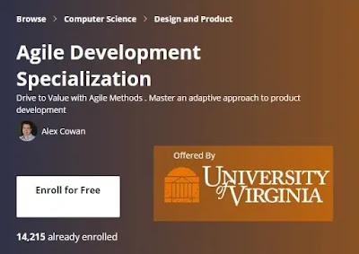 best coursera certification for agile development