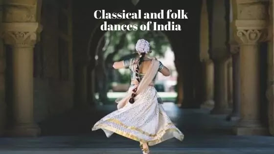 Classical and folk dances of India list and PDF