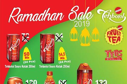 Brosur Produk Sosro Edisi Ramadhan