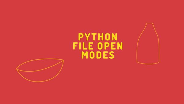 Python file modes crucial to handle the files. Here is the list of file modes to use correctly in your program.