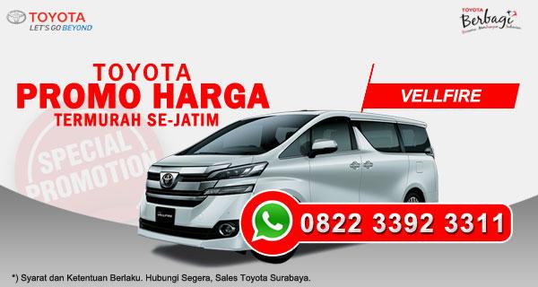 Promo Harga Toyota Vellfire Surabaya