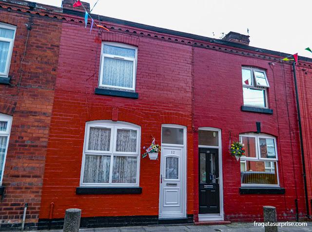 Casa de George Harrison em Liverpool
