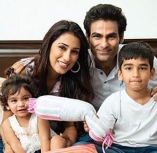 Kaif With His Family
