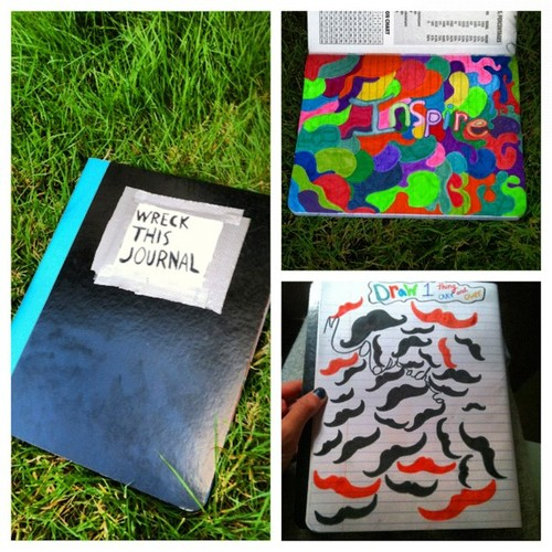 DIY: Wreck This Journal. Make Your Own