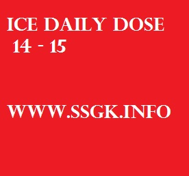 ICE DAILY DOSE 14 - 15