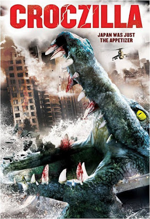 Poster Of Croczilla In Dual Audio Hindi English 300MB Compressed Small Size Pc Movie Free Download Only At worldfree4u.com