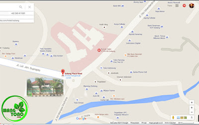 Peta Subang Plaza Hotel. Google Map.