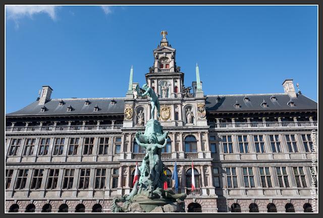 Ayuntamiento Grote Markt Amberes