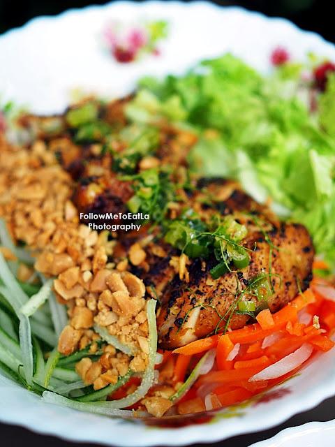Grilled Chicken Vermicelli or Bún Gà Nướng