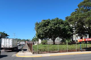 church fence in Santiago de Puriscal