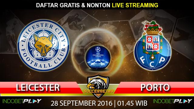 Prediksi Leicester vs Porto 28 September 2016 (Liga Champions)