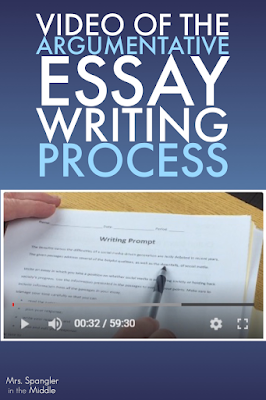 Great video for teaching the text-based argumentative essay with embedded counterclaims remotely!