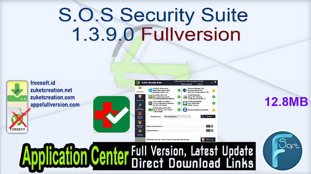 S.O.S Security Suite 1.3.9.0 Fullversion