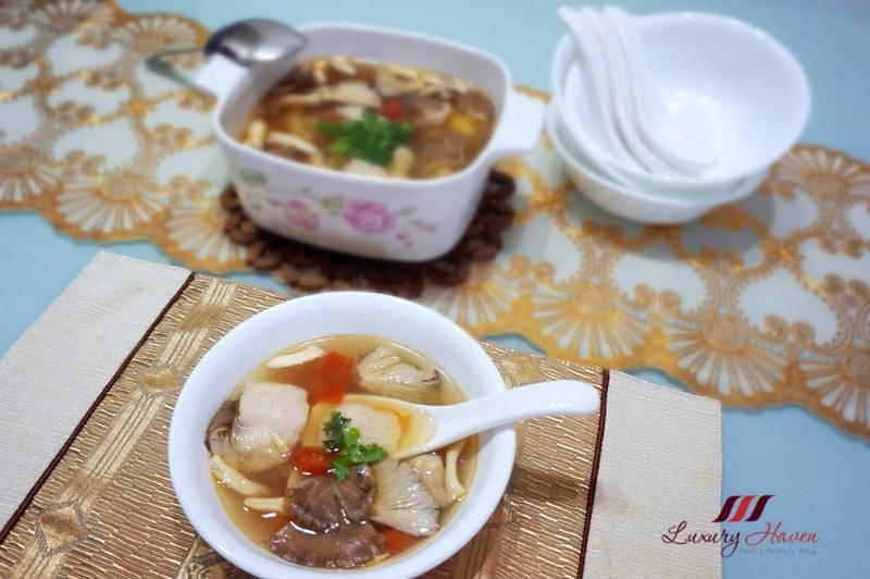 refreshing thai lemongrass fish soup recipe