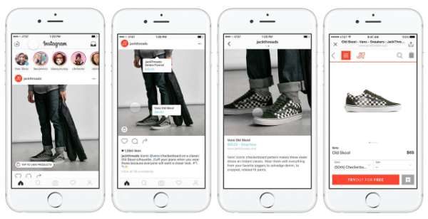 Instagram Testing Shopping Feature App