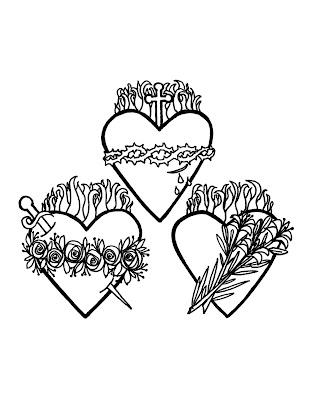 Holy Family Hearts