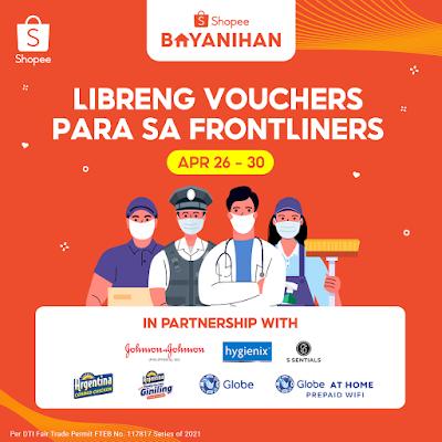 Globe Shopee Bayanihan Frontliner Package
