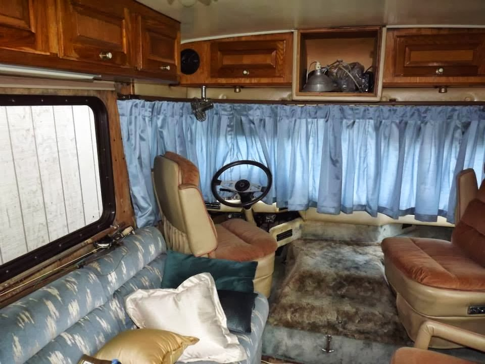 Dinette Couch In Travel Trailer Replaced With Recliners Or Loveseat