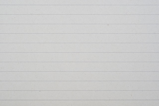 Recycled white lined paper texture