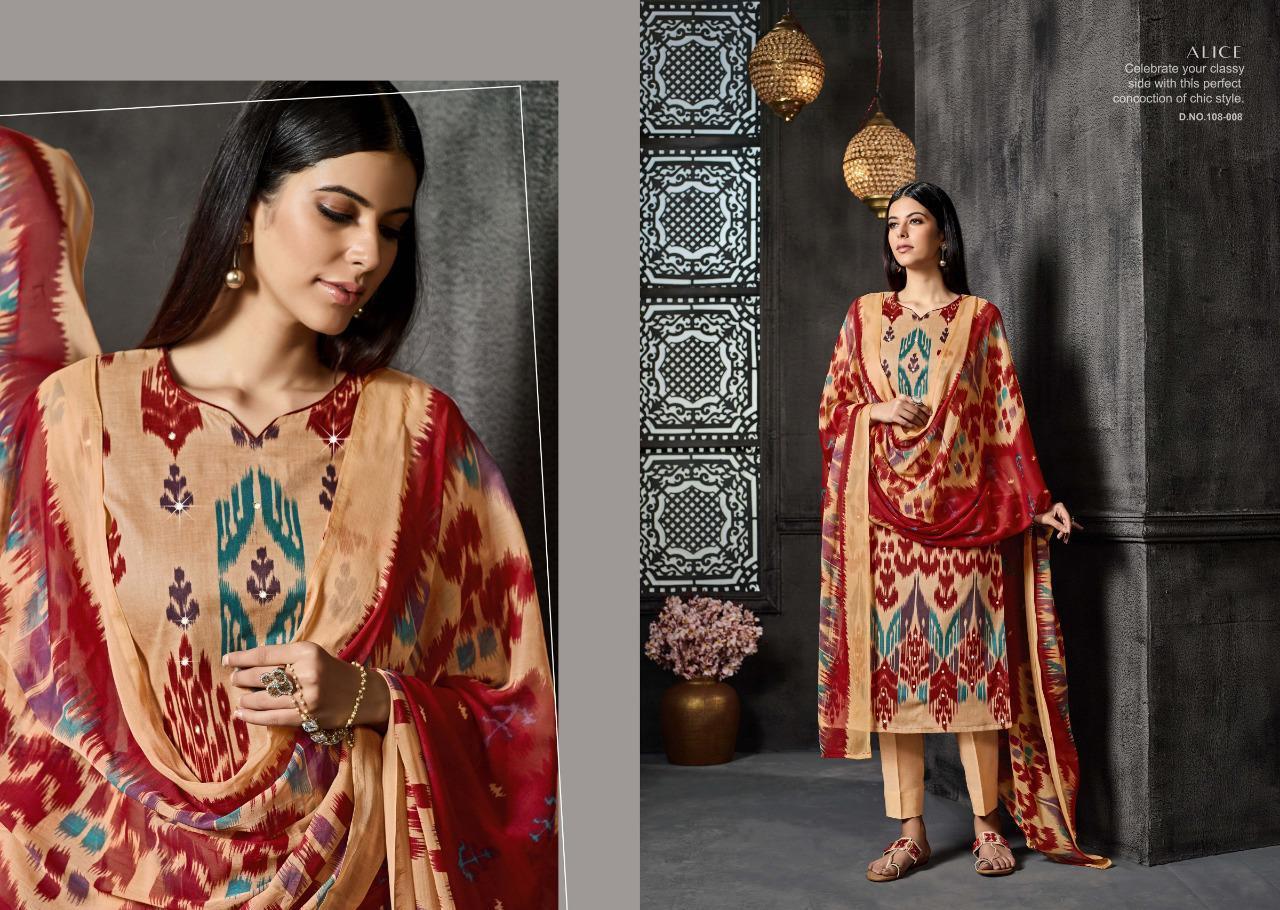 f740be4c24 sargam print alice traditional print salwar kameez - Diwan fashion