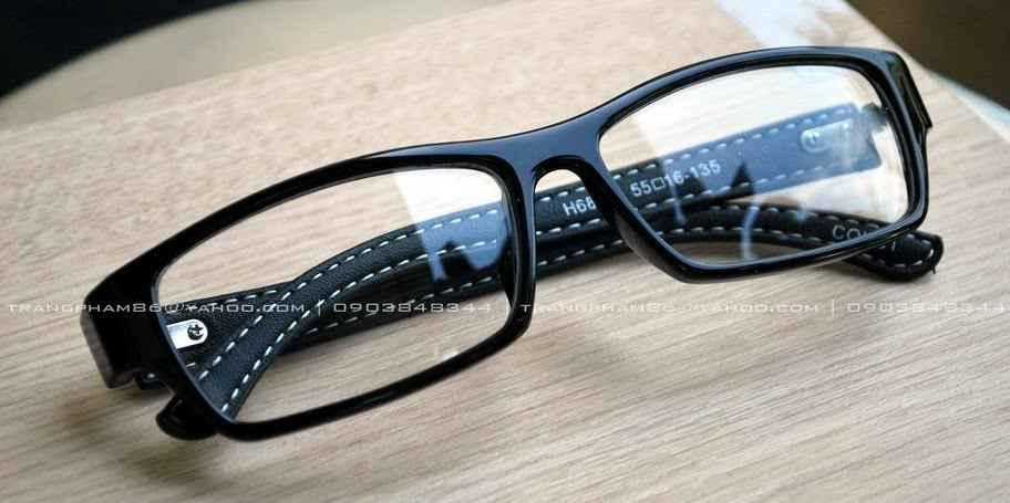 20k - Mắt kính ngố Nobita gọng da giá sỉ và lẻ rẻ nhất