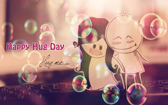 Happy Hug Day Wallpapers 2017