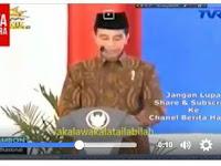 "Jokowi Bilang: ""Lakalawakatailabilah"" Netizen Melongo Nahan Gemes"