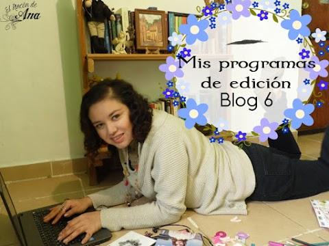 Mis aplicaciones para editar - Blog 6