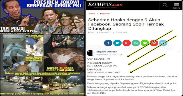 Pakai 9 Akun Fitnah Dan Hina Presiden Jokowi Ugie Khan Dicyduk, Begini Motivnya