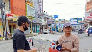KOSTI JABAR Dan PSHG Garut Bagi-bagi Masker Untuk Masyarakat Tidak Mampu Di Garut
