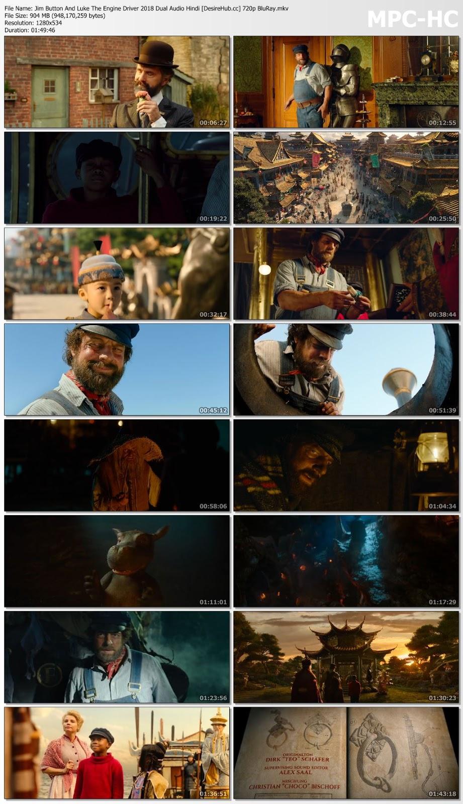 Jim Button And Luke The Engine Driver 2018 Dual Audio Hindi 480p BluRay 300mb Desirehub