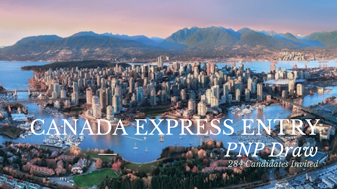 New Express Entry Draw: 284 Candidates Invited