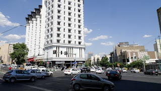 The city center of Tehran has nice restaurants
